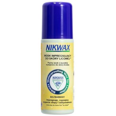 Nikwax Wosk impregnujący do skóry licowej bezbarwny gąbka 125ml