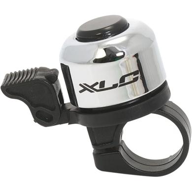 XLC DD M01 dzwonek rowerowy srebrny