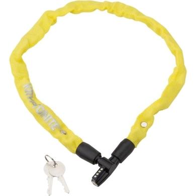 Kryptonite Keeper 465 KC Zapięcie rowerowe linka klucz żółte