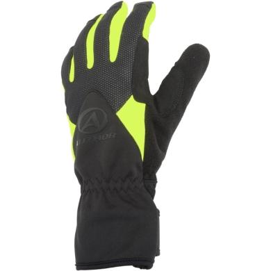 Author Windster X5 Zimowe rękawiczki rowerowe z membraną czarno żółte