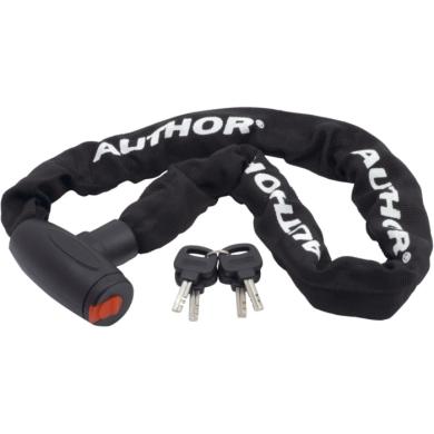 Author ACHL 55 Zapięcie rowerowe łańcuch 90cm z zamkiem na klucz