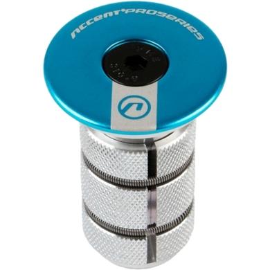 Accent AC 900 Carbon Gwiazdka steru z kapslem niebieska