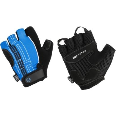 Accent El Nino rękawiczki rowerowe czarno niebieski