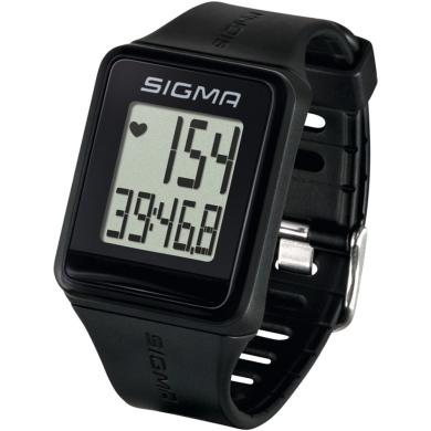 Sigma iD.Go Zegarek z pulsometrem czarny