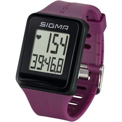Sigma iD.Go Zegarek z pulsometrem fioletowy