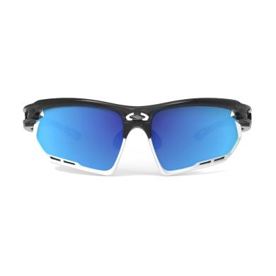 Rudy Project Fotonyk RP Optics Okularysportowe Crystal Graphite Multilaser Blue