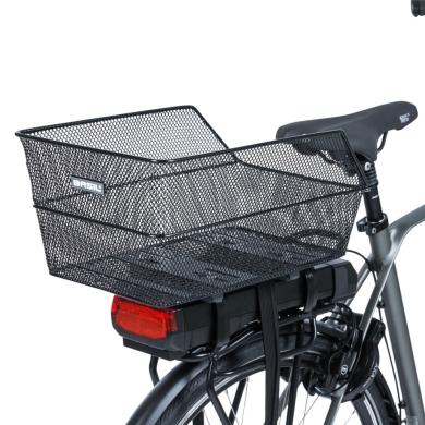 Basil Cento WSL Koszyk rowerowy tylny czarny