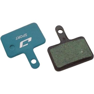 Jagwire Klocki hamulcowe tarczowe Sport Organic Shimano M515 / M445 / M395 organiczne