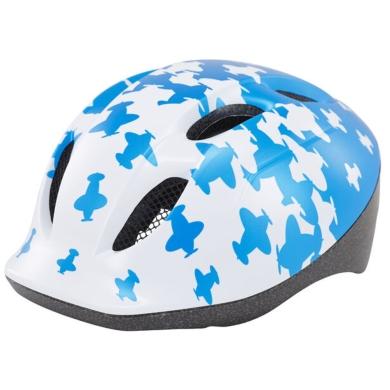 MET Buddy Kask rowerowy dziecięcy airplanes biało niebieski