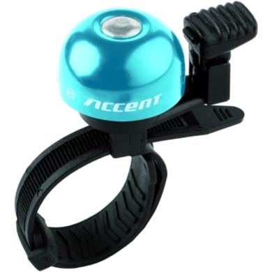 Accent Ding Dzwonek rowerowy niebieski