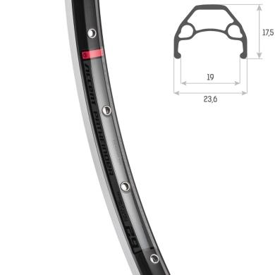 "Accent Pathfinder Obręcz MTB 27,5"" czarna"