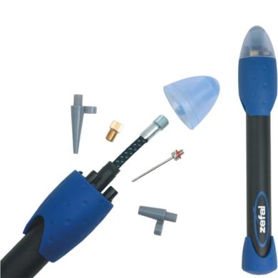 Zefal Multi Sports Max 318 Pompka kompaktowa ręczna czarno niebieska
