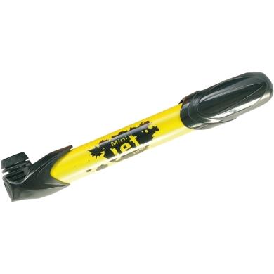 Zefal Mini Jet Pompka rowerowa ręczna uniwersalna żółto czarna