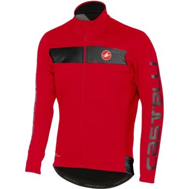 Castelli Raddopia Kurtka rowerowa ocieplana czerwona