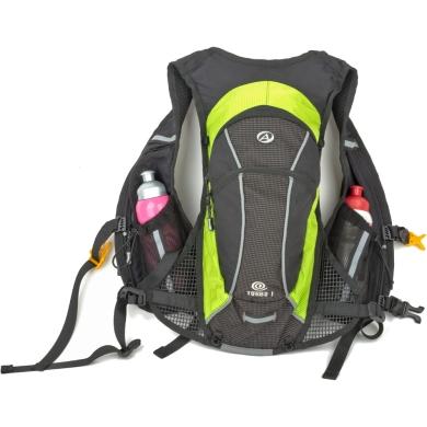 Author Turbo 6 Vest Plecak rowerowo turystyczny czarno zielony 6L