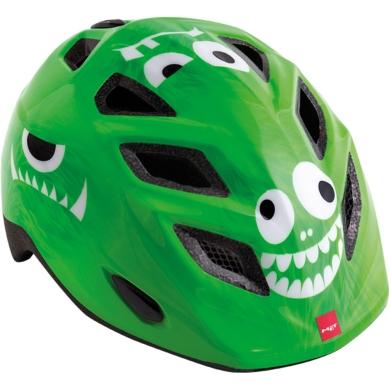 MET Genio II Kask rowerowy dziecięcy monster zielony