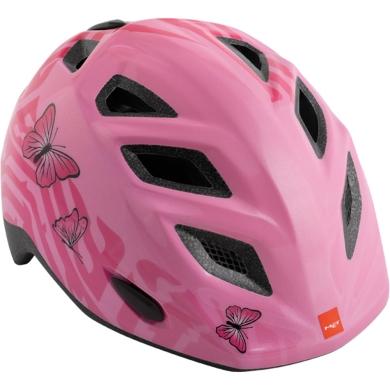 MET Genio II Kask rowerowy dziecięcy różowy