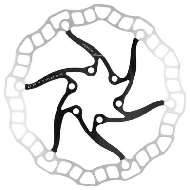 Dartmoor Nano Tarcza hamulcowa 6 śrub czarna