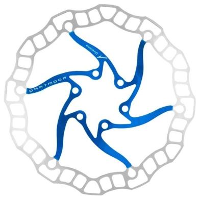 Dartmoor Nano Tarcza hamulcowa 6 śrub niebieska