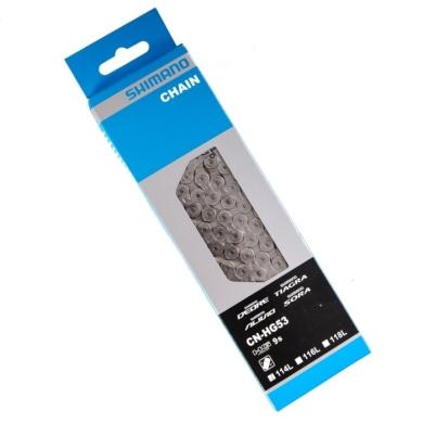 Shimano CN HG53 Łańcuch Deore 9 rzędowy + pin 114 ogniw box