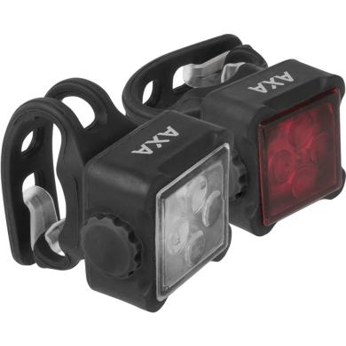 AXA Niteline 44 Zestaw lampek przód tył