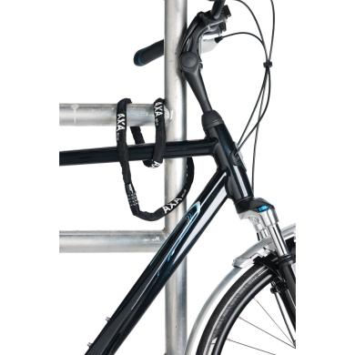 AXA Rigid Code Zapięcie rowerowe linka szyfr 120cm różowe