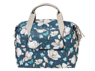 Basil Magnolia Carry All Bag Torba rowerowa damska teal blue 18L