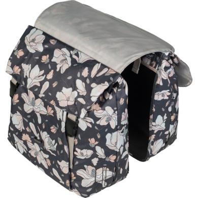 Basil Magnolia Double Bag Sakwy rowerowe na bagażnik pastel powders 35L
