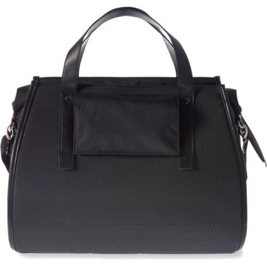 Basil Noir Business Bag Torba na bagażnik czarna 17L