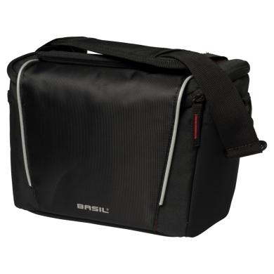 Basil Sport Design Handlebar Bag Torba na kierownicę czarna 7L