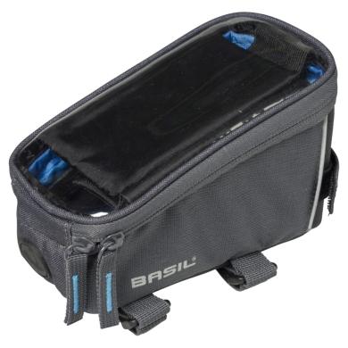 Basil Sport Design Frame Bag Torba na ramę grafitowa 1L