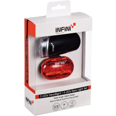 Infini Luxo & Vista Set Zestaw lampek przód tył