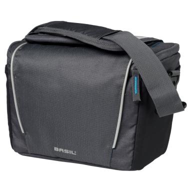 Basil Sport Design Handlebar Bag Torba na kierownicę grafitowa 7L