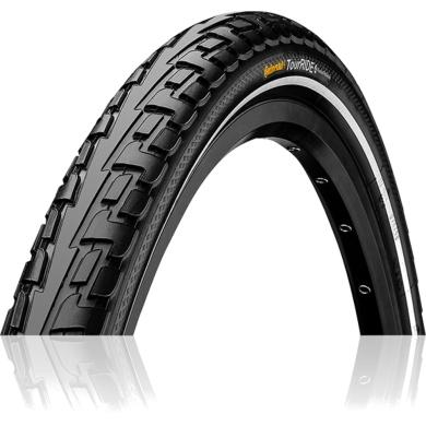 Continental Ride Tour 26-27,5 ExtraPuncture Belt Opona rowerowa drutowa czarna Reflex
