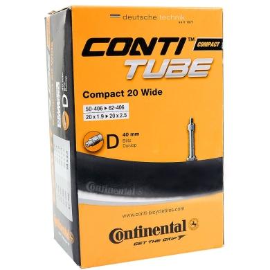Continental Dętka Compact 20 Wide dunlop 40mm