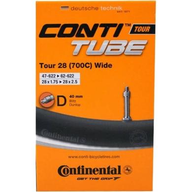 Continental Dętka Tour 28 Wide dunlop 40mm