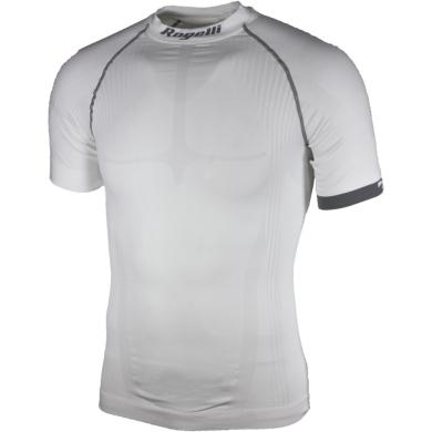 Rogelli Compression Koszulka termoaktywna krótki rękaw biała