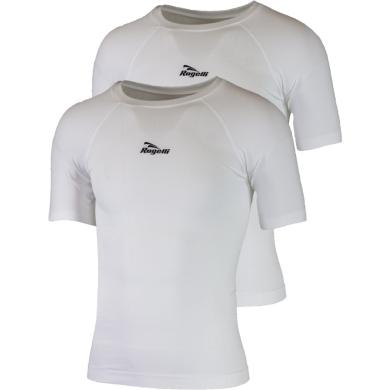 Rogelli Core Koszulka termoaktywna krótki rękaw biała 2szt.