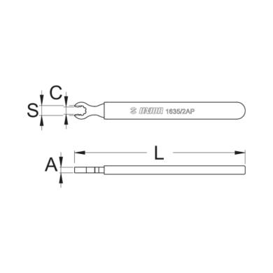 Unior Klucz do szprych Mavic R-sys 1635/2AP