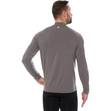 Brubeck Active Wool Bluza męska szara