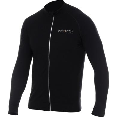 Brubeck Active Wool Bluza męska czarna