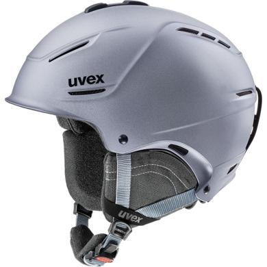 Kask narciarski snowboardowy Uvex P1us 2.0 szary