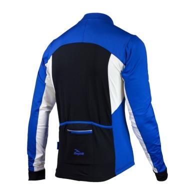 Rogelli Recco 2.0 koszulka z długim rękawem niebieska 2019