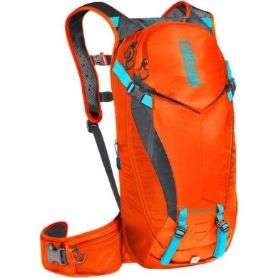 Camelbak K.U.D.U. PROTECTOR 10 Plecak rowerowy z ochraniaczem pleców pomarańczowy