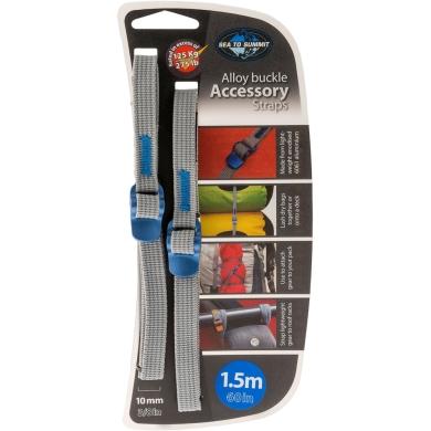Sea to Summit Accesory Straps Pasy mocujące bagaż z klamrami 10mm blue