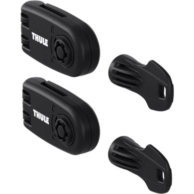 Thule Wheel Strap Locks 986 Zestaw do zablokowania pasów do kół do bagażników rowerowych