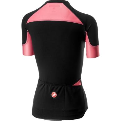 Castelli Scheggia 2 Koszulka rowerowa damska czarno różowa
