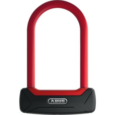 Abus Granit Plus 640 Zapięcie rowerowe U Lock 150mm czerwone