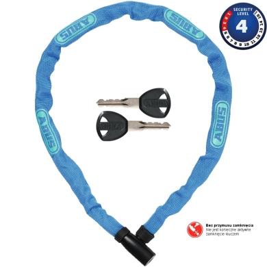 Abus Steel O Chain 4804K 75cm Zapięcie rowerowe łańcuch blue
