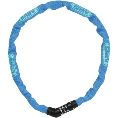 Abus Steel O Chain 4804C 75cm Zapięcie rowerowe łańcuch na szyfr blue